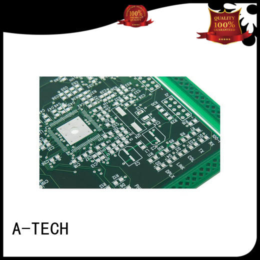 A-TECH hard immersion silver pcb cheapest factory price for wholesale