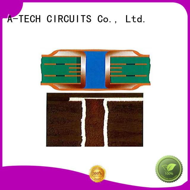 A-TECH half depth via in pad pcb hot-sale at discount