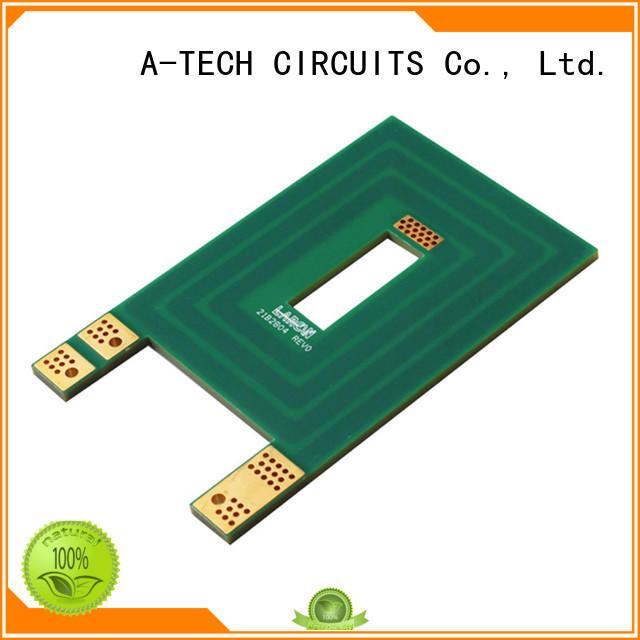 edge blind vias pcb impedance for sale A-TECH