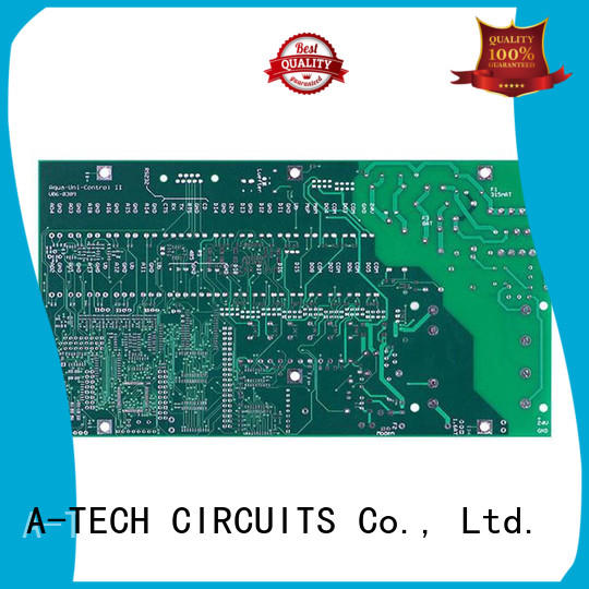 A-TECH aluminum microwave rf pcb custom made at discount