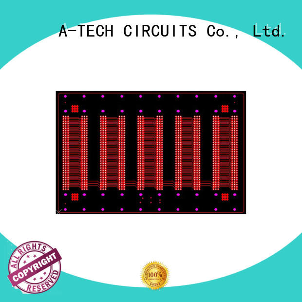 A-TECH hybrid via in pad pcb hot-sale for sale