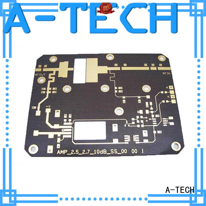 A-TECH quick turn single-sided PCB at discount