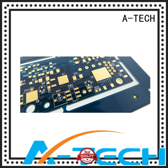 A-TECH leveling peelable mask pcb cheapest factory price for wholesale