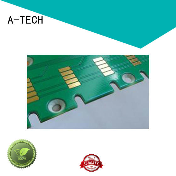 A-TECH press edge plating pcb best price for wholesale