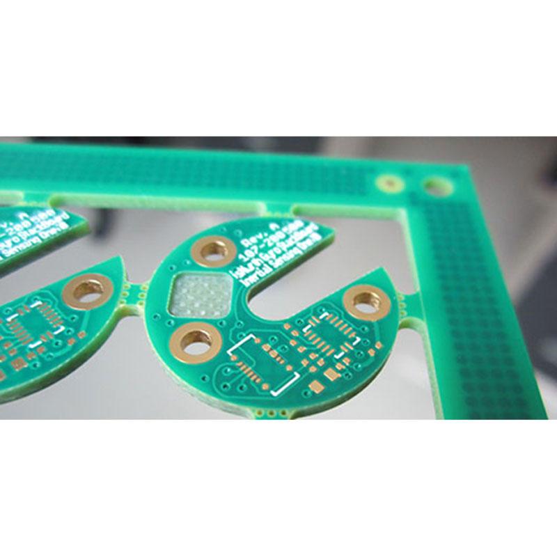 Depth control routing PCB