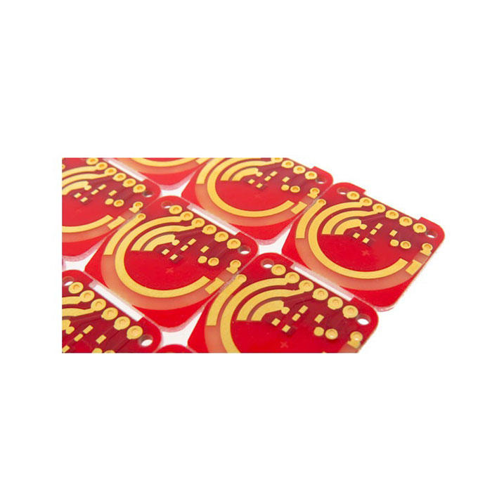 Hard Gold Plated PCB FR4(High Tg) Material Gold Thickness(0.1-1.27um)