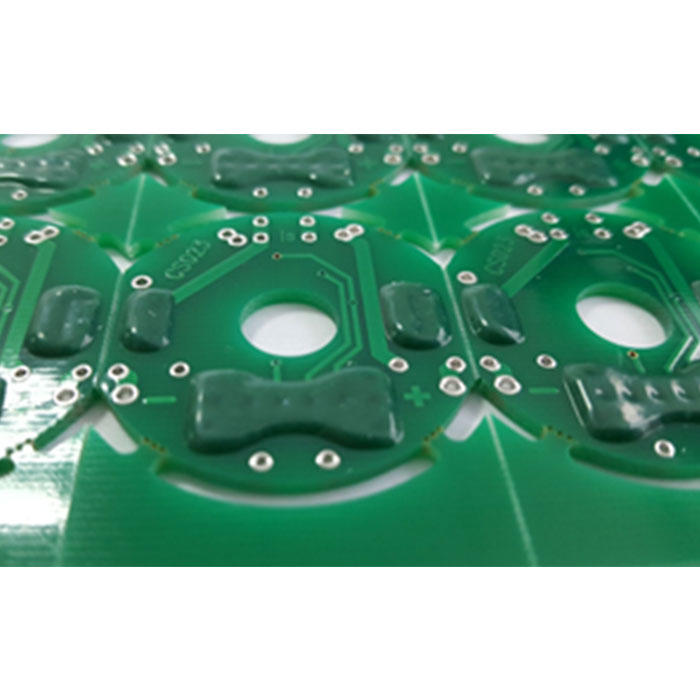 Double sided Peelable Mask PCB Peters SD2955 Heat-resisting
