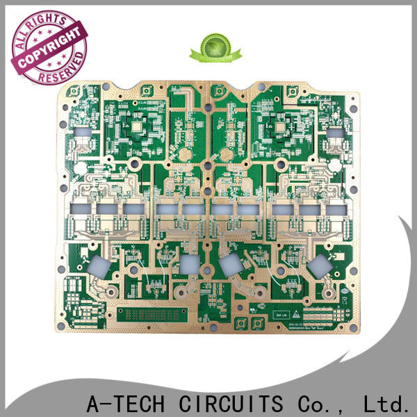 A-TECH edge via in pad pcb best price for sale