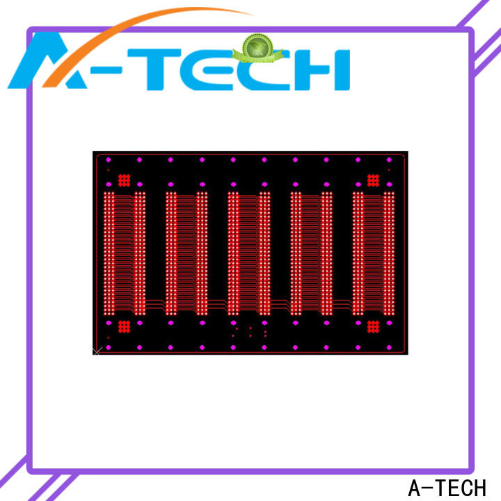 A-TECH via in pad pcb best price for wholesale