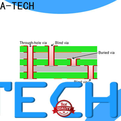 A-TECH plated micro vias pcb best price for wholesale