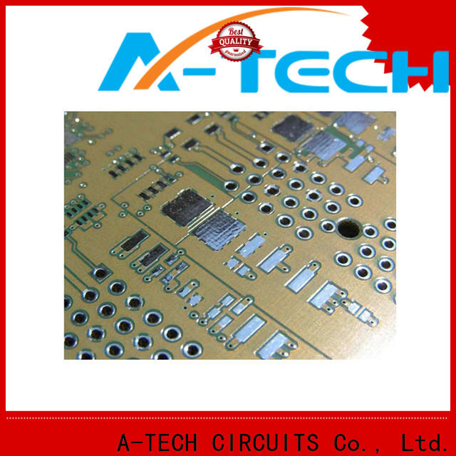 A-TECH carbon pcb gold plating cheapest factory price for wholesale