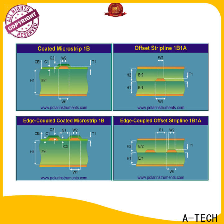 A-TECH routing blind vias pcb best price for sale