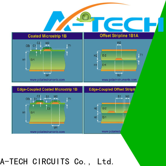 A-TECH edge impedance control pcb best price at discount