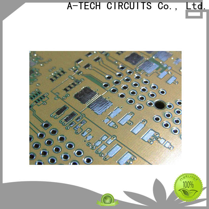 A-TECH silver hard gold pcb Supply for wholesale