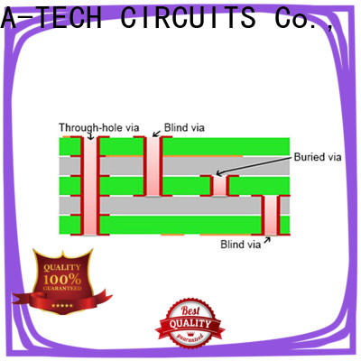 A-TECH plating buried vias pcb Suppliers at discount