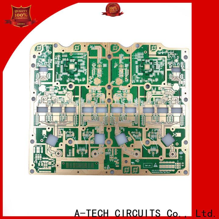 A-TECH hybrid via in pad pcb company top supplier