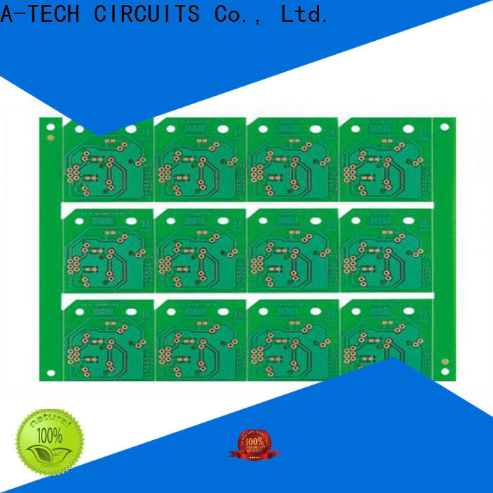 A-TECH rigid pcb fab and assembly custom made at discount
