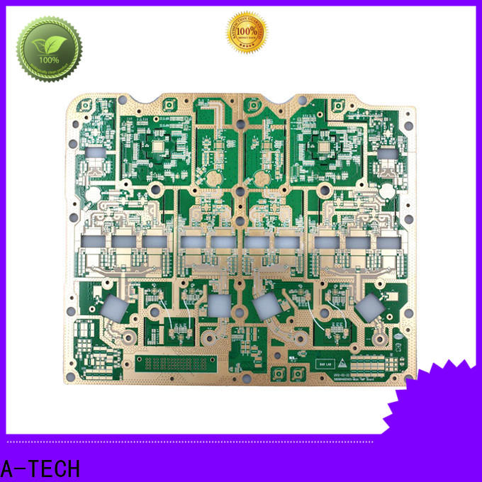 A-TECH China castellated holes pcb Supply for sale