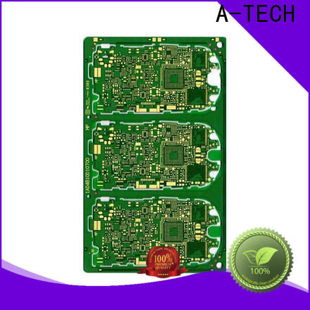 A-TECH single sided custom pcb manufacturing company at discount