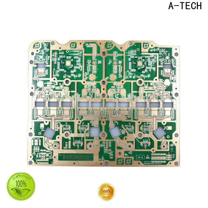A-TECH plated castellated holes pcb hot-sale for sale