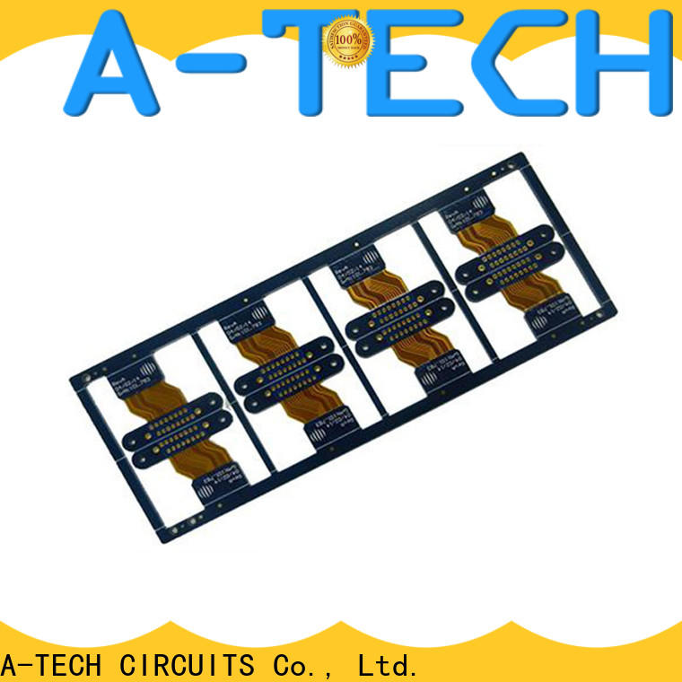 A-TECH metal core printed circuit board standards double sided for led
