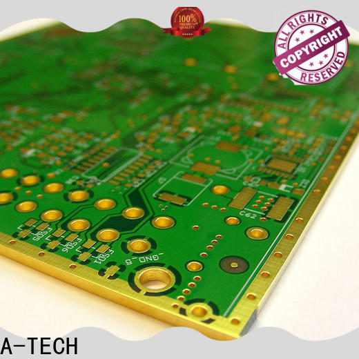 A-TECH impedance pcb edge plating process factory top supplier