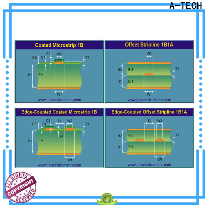 A-TECH buried micro vias pcb Supply for wholesale
