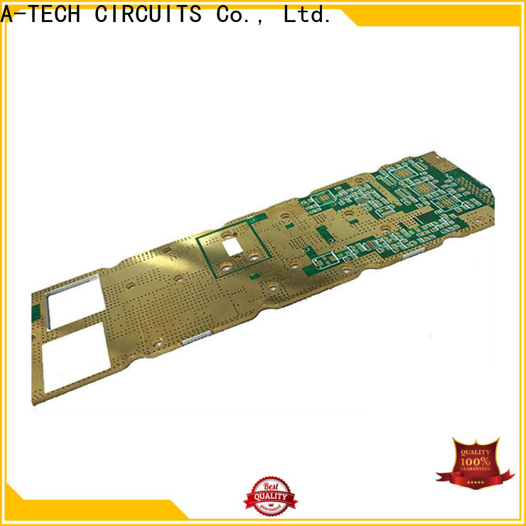 A-TECH single sided pcb design and assembly for business