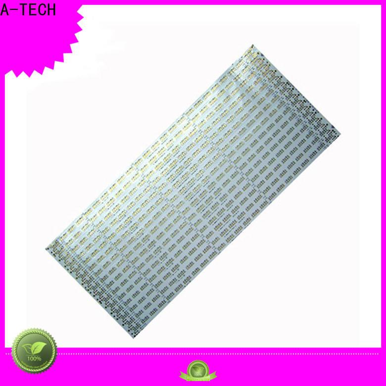 A-TECH rigid pcba company factory for led