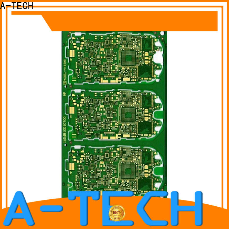A-TECH single sided custom pcb printing double sided at discount