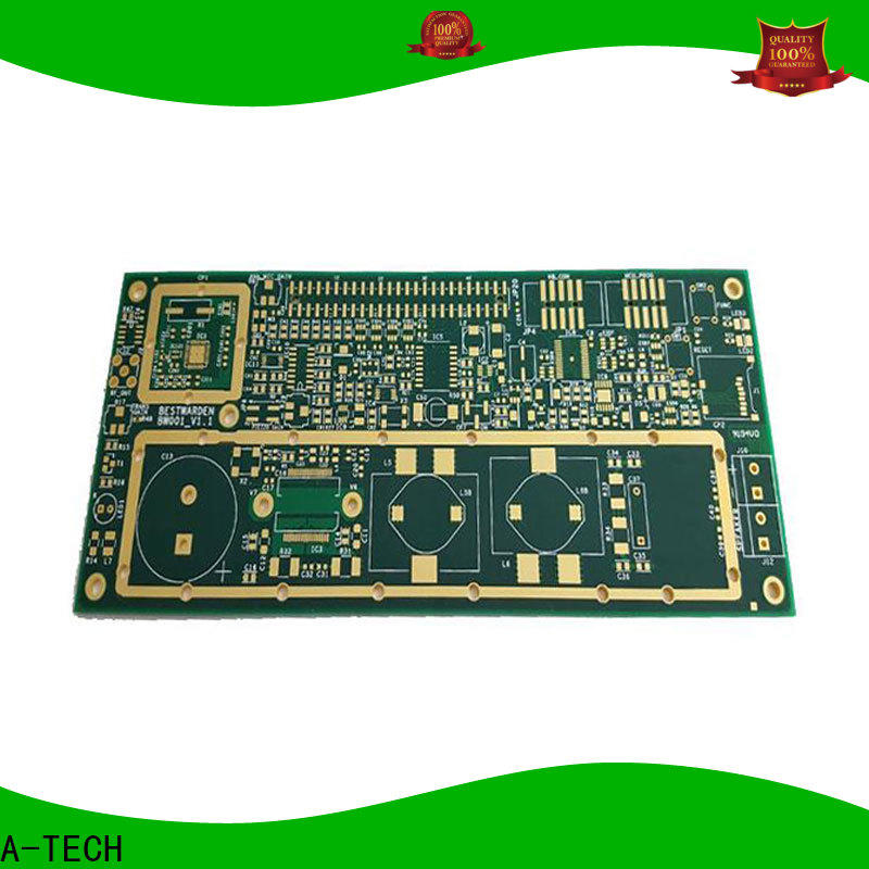 A-TECH single sided prototype circuit board fabrication top selling for led