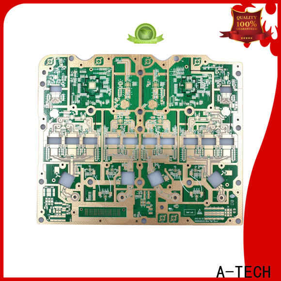 A-TECH routing blind via in pcb manufacturers top supplier
