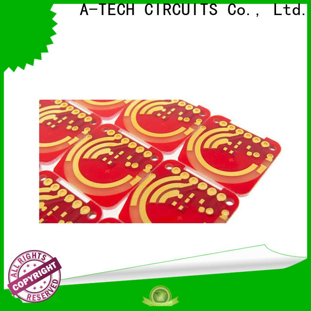 A-TECH gold plated hard gold pcb free delivery at discount