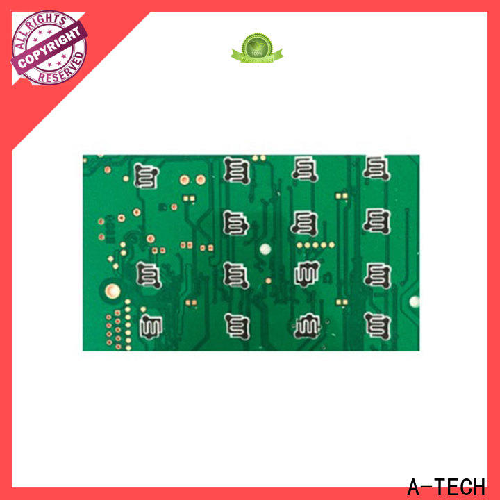 A-TECH silver peelable solder mask pcb cheapest factory price at discount