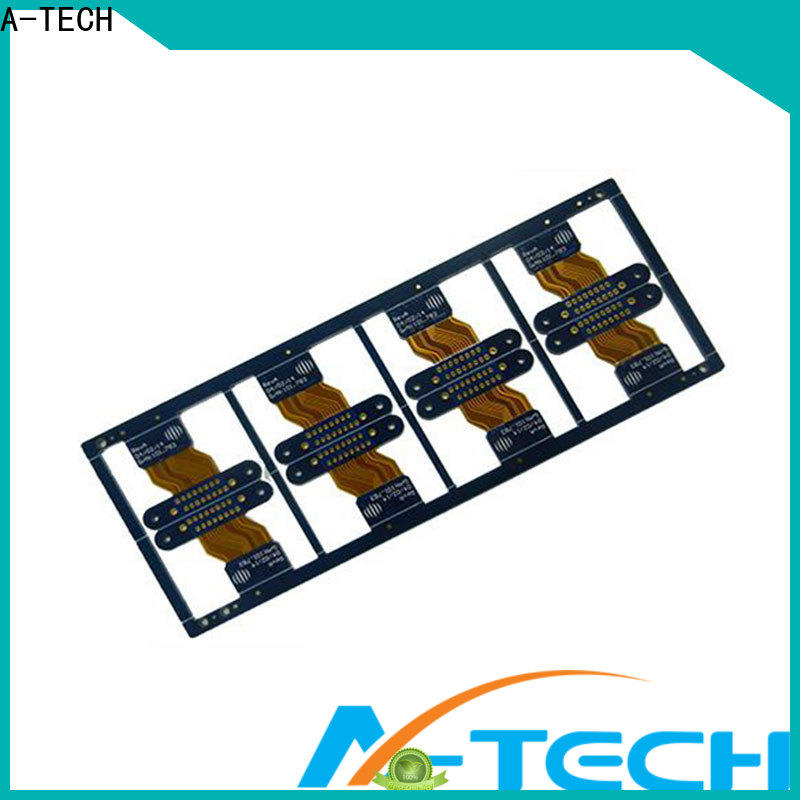 A-TECH rigid flexible pcb manufacturer manufacturers for led