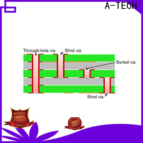 A-TECH via in pad pcb counter sink Suppliers at discount
