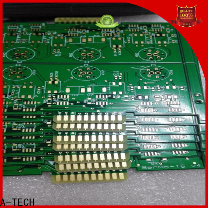 Custom ODM printed circuit board design double sided for led