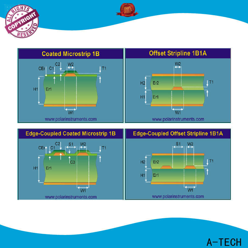 A-TECH counter sink hybrid pcb Suppliers for sale