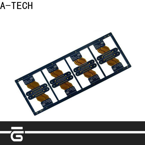 A-TECH flexible hdi pcb design double sided for led