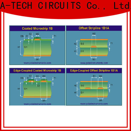 A-TECH plated vippo pcb factory at discount