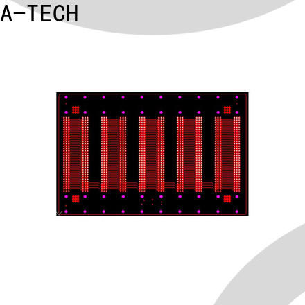 A-TECH Custom high quality via in pad pcb Supply top supplier