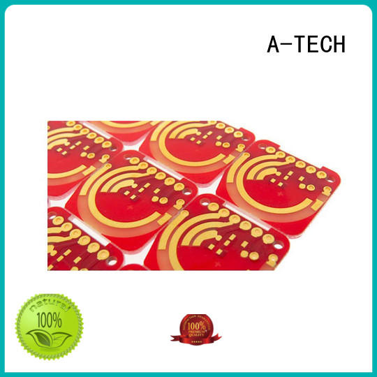 A-TECH silver immersion gold pcb cheapest factory price at discount