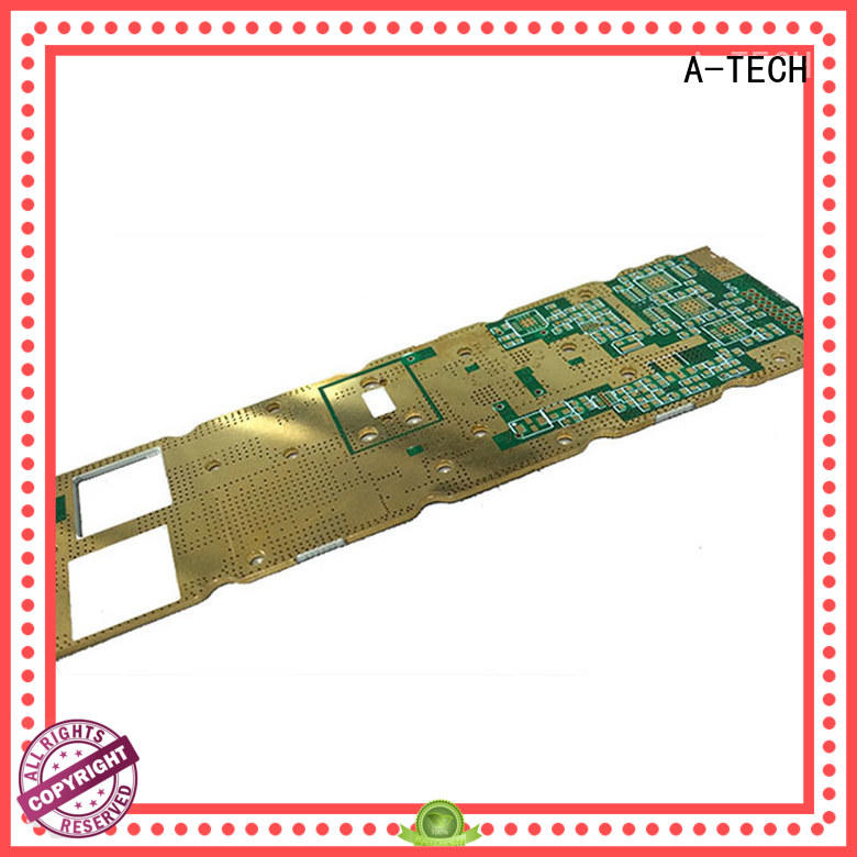 A-TECH rigid single-sided PCB custom made for led