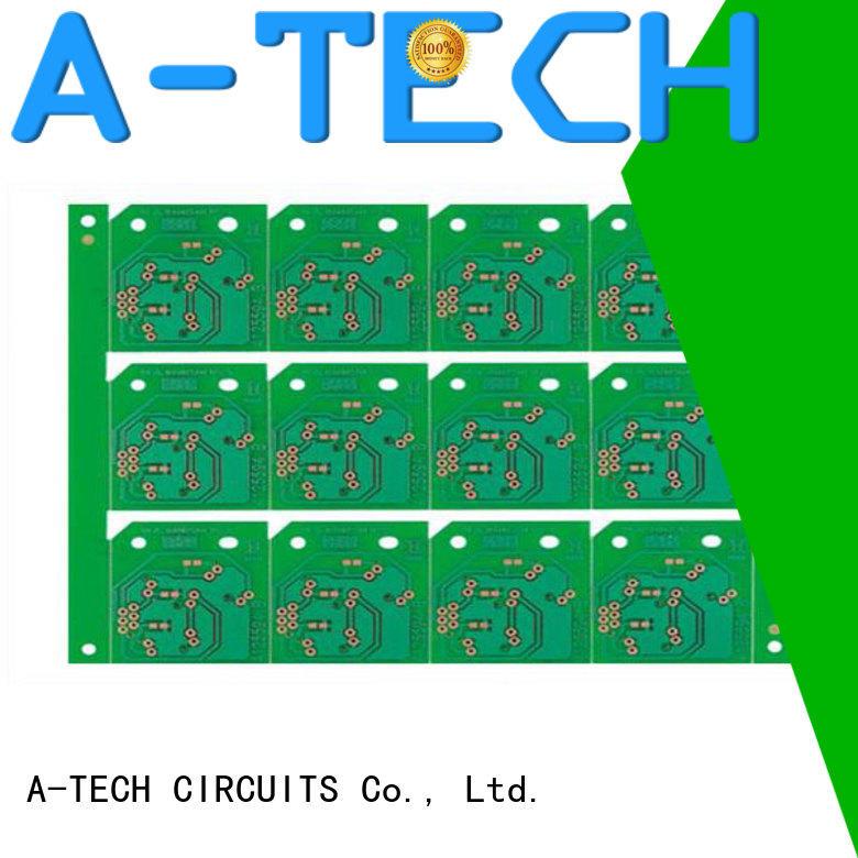 A-TECH microwave rigid flex pcb custom made at discount