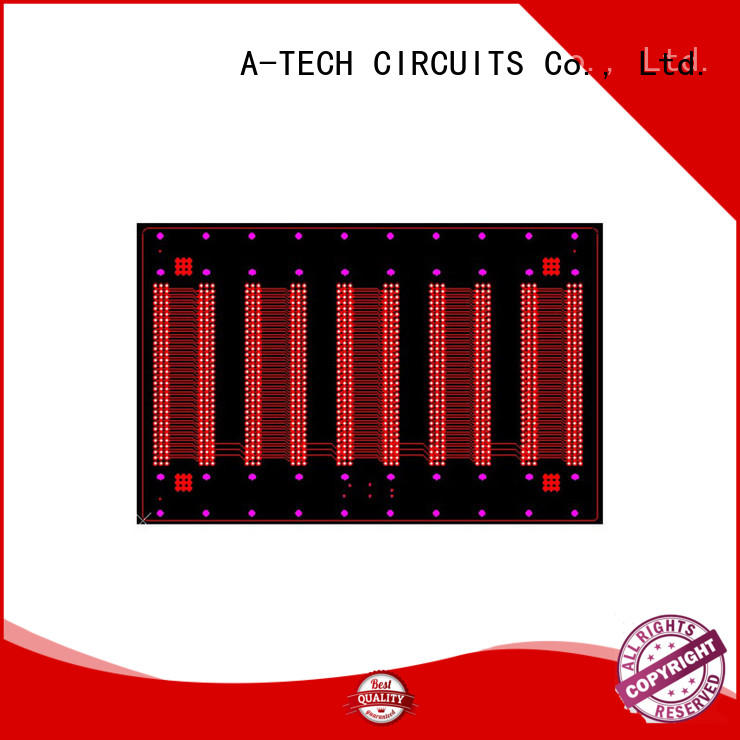 A-TECH blind via in pad pcb best price for sale