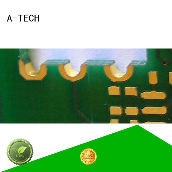 A-TECH routing edge plating pcb best price top supplier