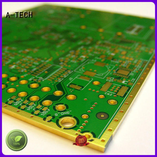 plated edge plating pcb durable top supplier