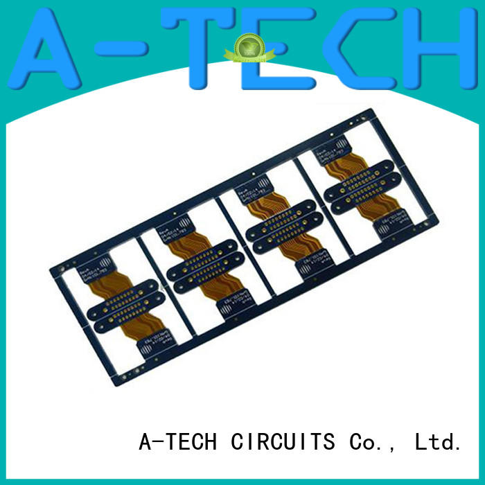 A-TECH aluminum double-sided PCB top selling for led
