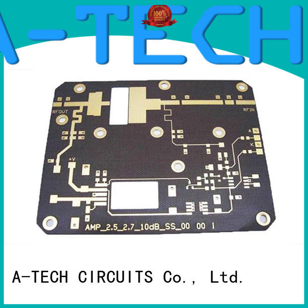 aluminum pcb custom made at discount A-TECH