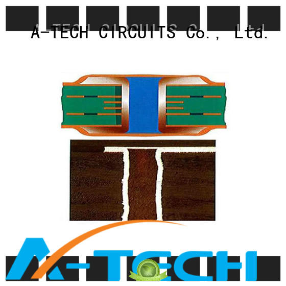 A-TECH routing edge plating pcb durable for sale